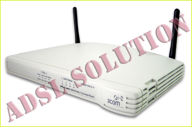 3Com Office Connect 3CRWE754G72-A Wireless ADSL