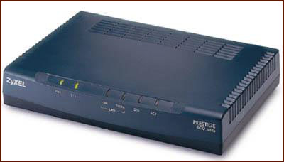 Zyxel ADSL Internet Access Router 645R